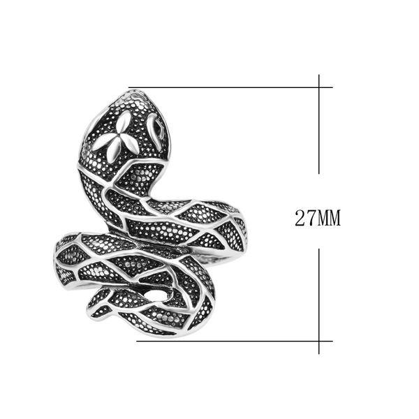 Bague serpent oeil de cristal blanc pas cher argente