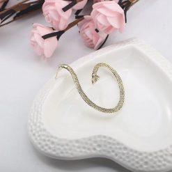 Boucles d'oreilles serpent Boa enroulé qualité prix