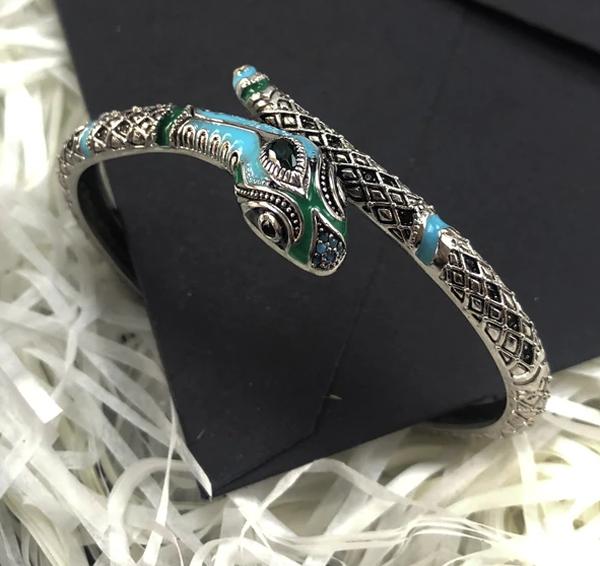 Bracelet Serpent Argent Amazonie Mystique pas cher