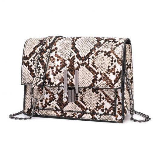 sac à main Serpent Petit Elegant femme pas cher