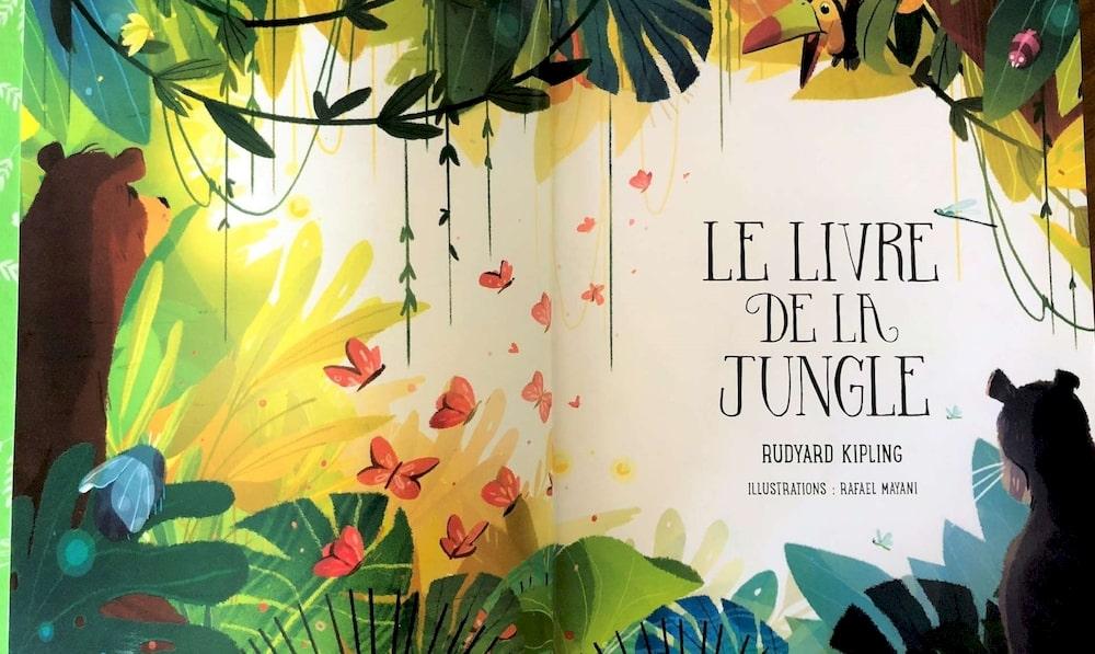 Livre de la Jungle de Rudyard Kipling