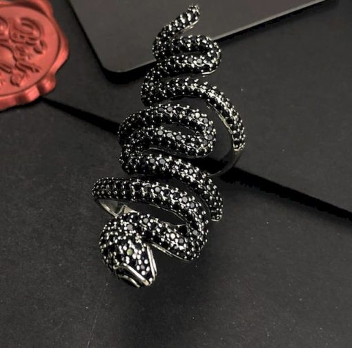 Bague Serpent Longue Gothique qualité prix