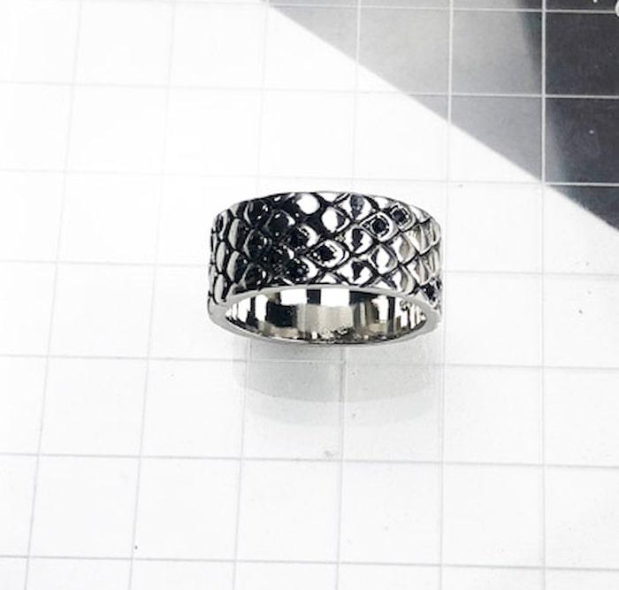 Bague Serpent Peau Ecaille Diamant achat