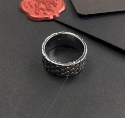 Bague Serpent Peau Ecaille Diamant anneau
