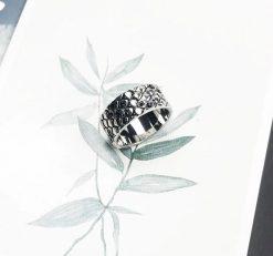 Bague Serpent Peau Ecaille Diamant qualité prix