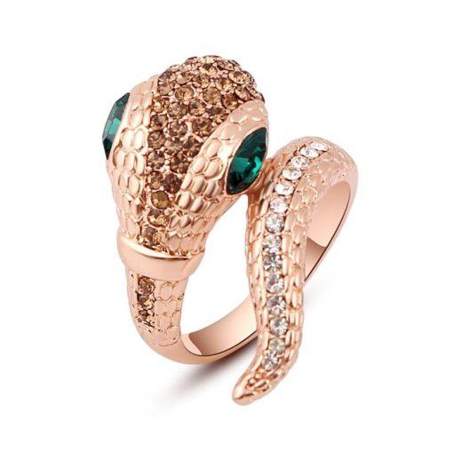 Bague Serpent a la Mode Ultra-Luxe qualité prix
