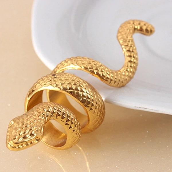 Bagues Serpent Grande Spirale pas cher qualité prix