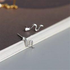 Boucles D'oreilles Serpent Yeux Diamant pas cher qualité prix