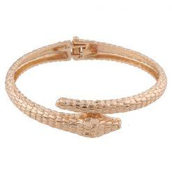 Bracelets Serpent Ouvert Métal Or