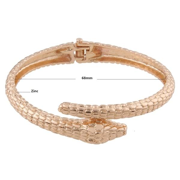 Bracelets Serpent Ouvert Métal pas cher