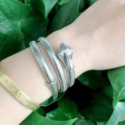 Bracelets Serpent Torsadé extensible or achat