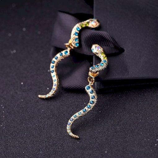 Boucles d'Oreilles Serpent en Deux Parties qualité prix