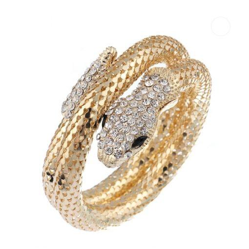 Bracelet Serpent Grand Luxe or