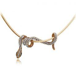 Collier Serpent avec Chaîne Courte achat