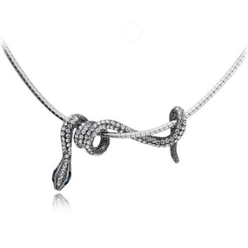 Collier Serpent avec Chaîne Courte acheter
