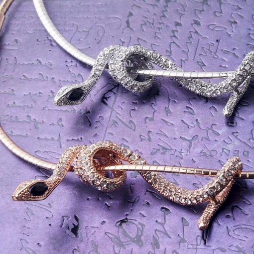 Collier Serpent avec Chaîne Courte qualité prix